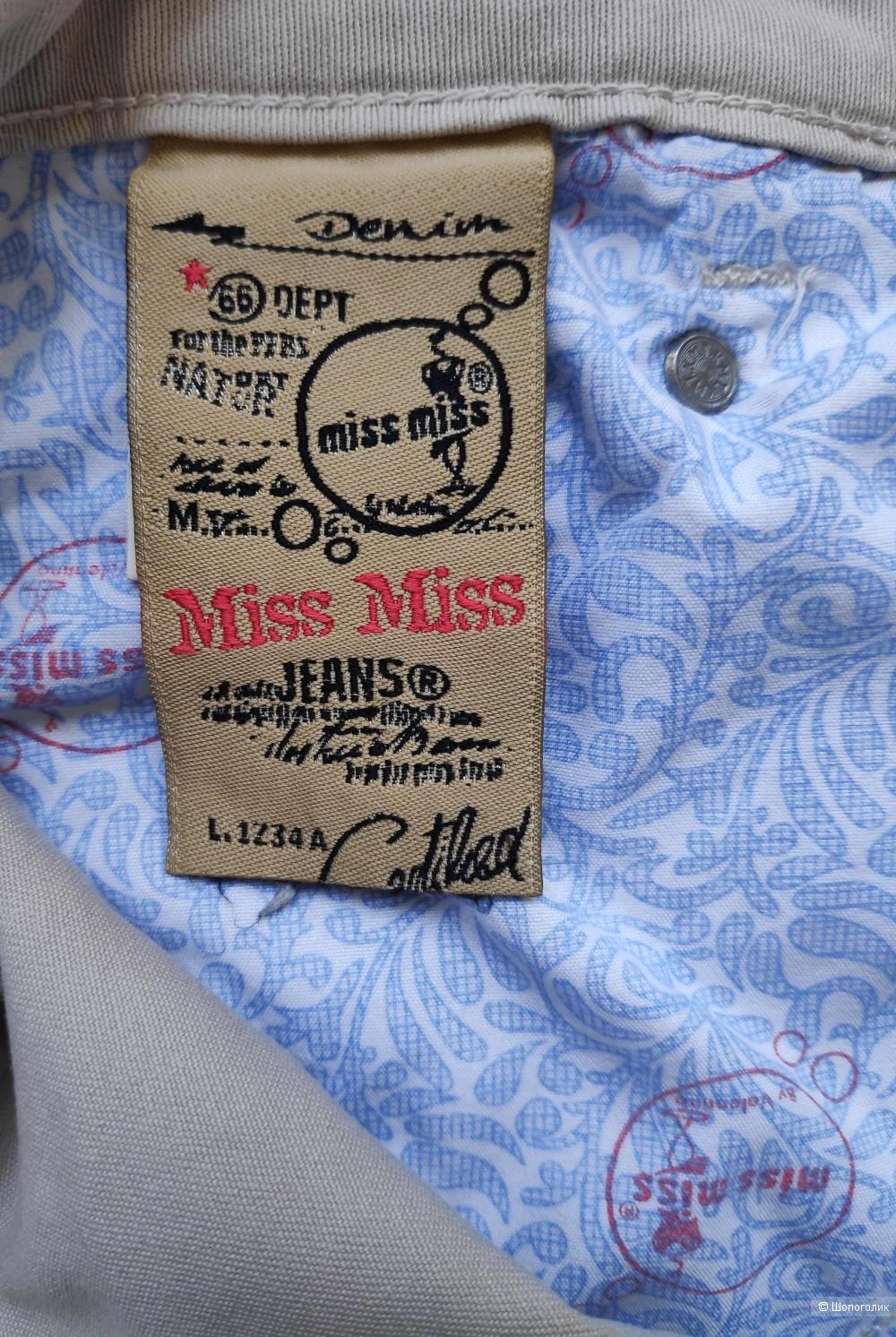 Джинсы MISS MISS BY VALENTINA, маркировка 42 IT.