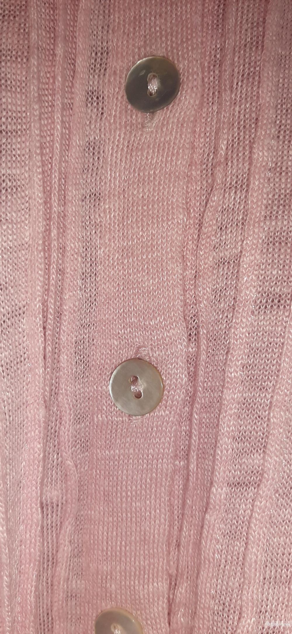 Льняная трикотажная рубашка Belluna, 4 (L)