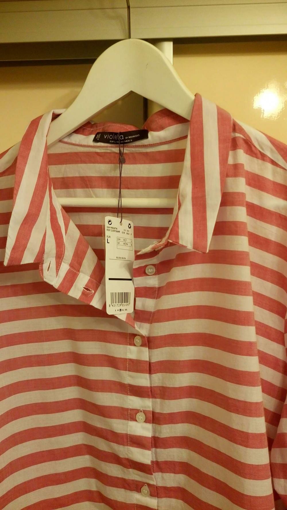 Рубашка Mango размер L (48-50)