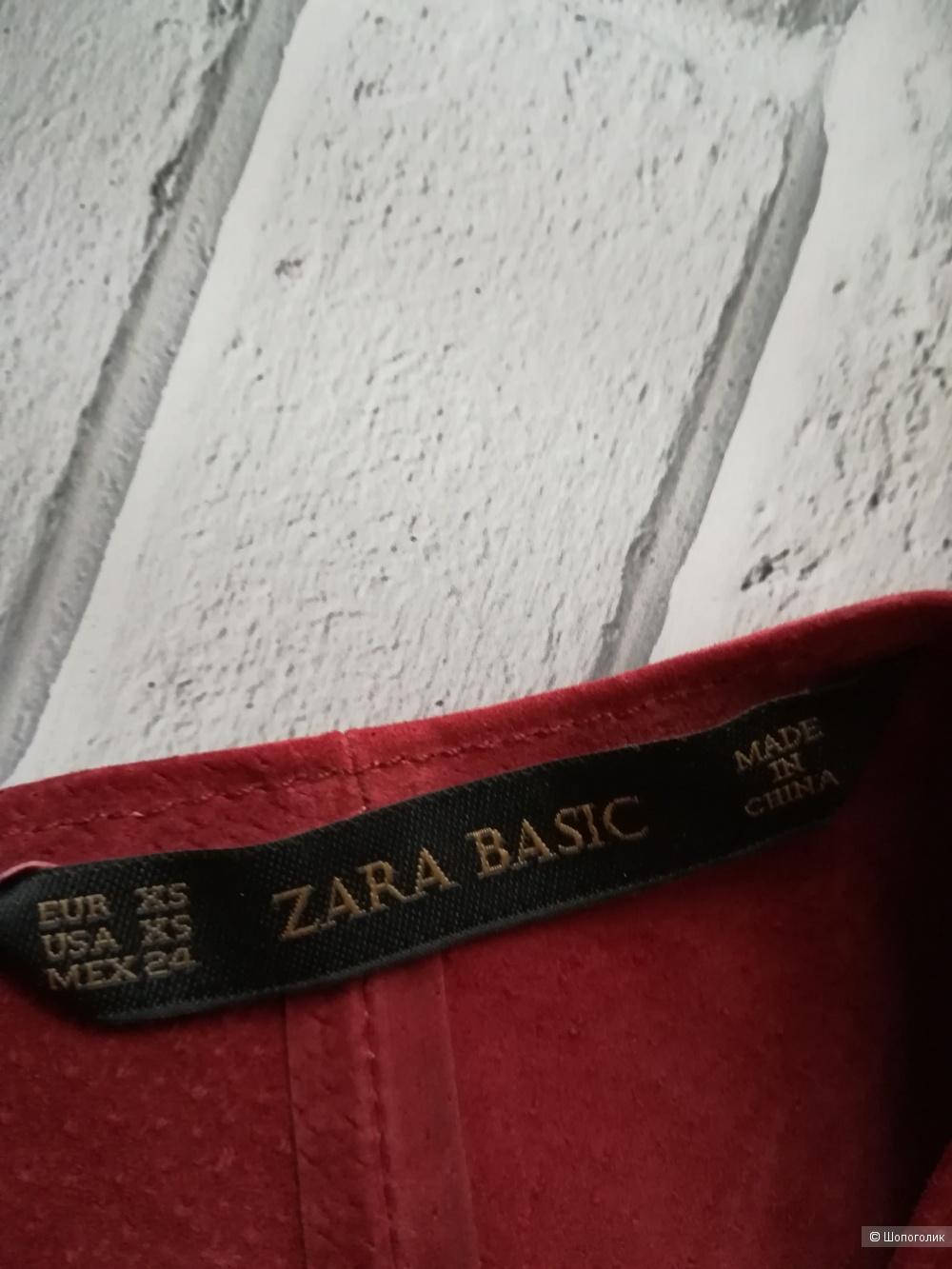 Замшевое платье Zara, размер 42-44