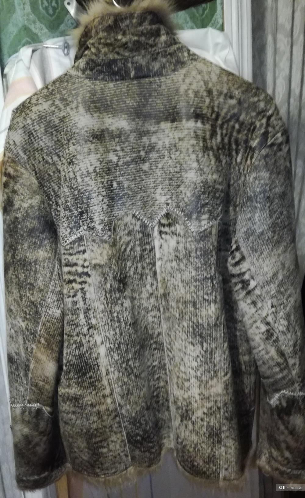 Куртка натуральный мех . Винтажная.р 48-50 (М)