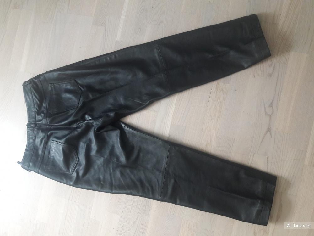Кожаные брюки 50 размера Harve Bernard