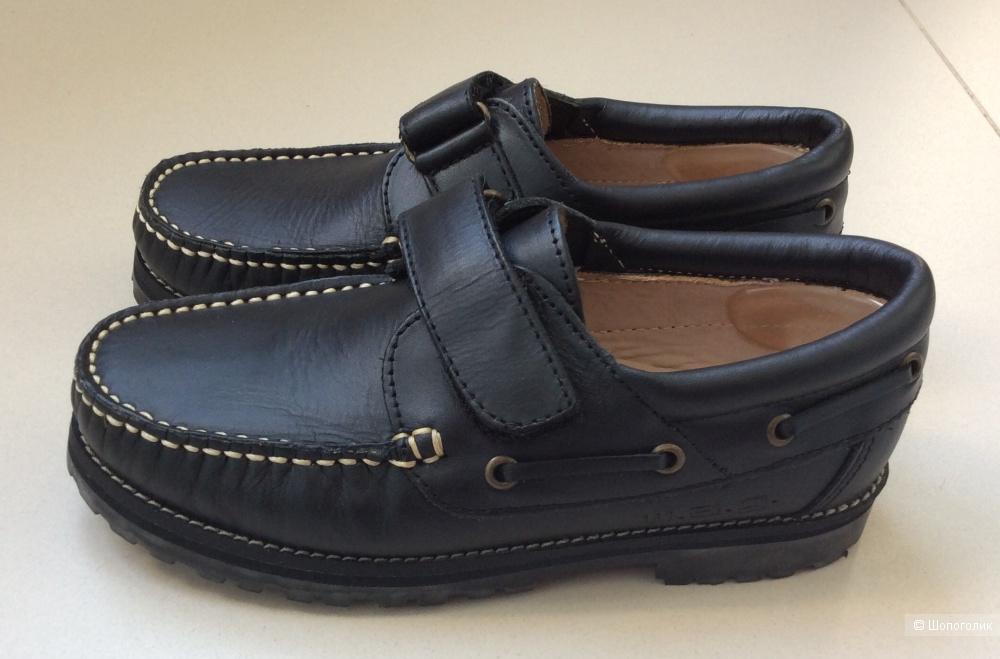 Туфли-топсайдеры для мальчика W.A.G. р.32 (20,5-21 см)