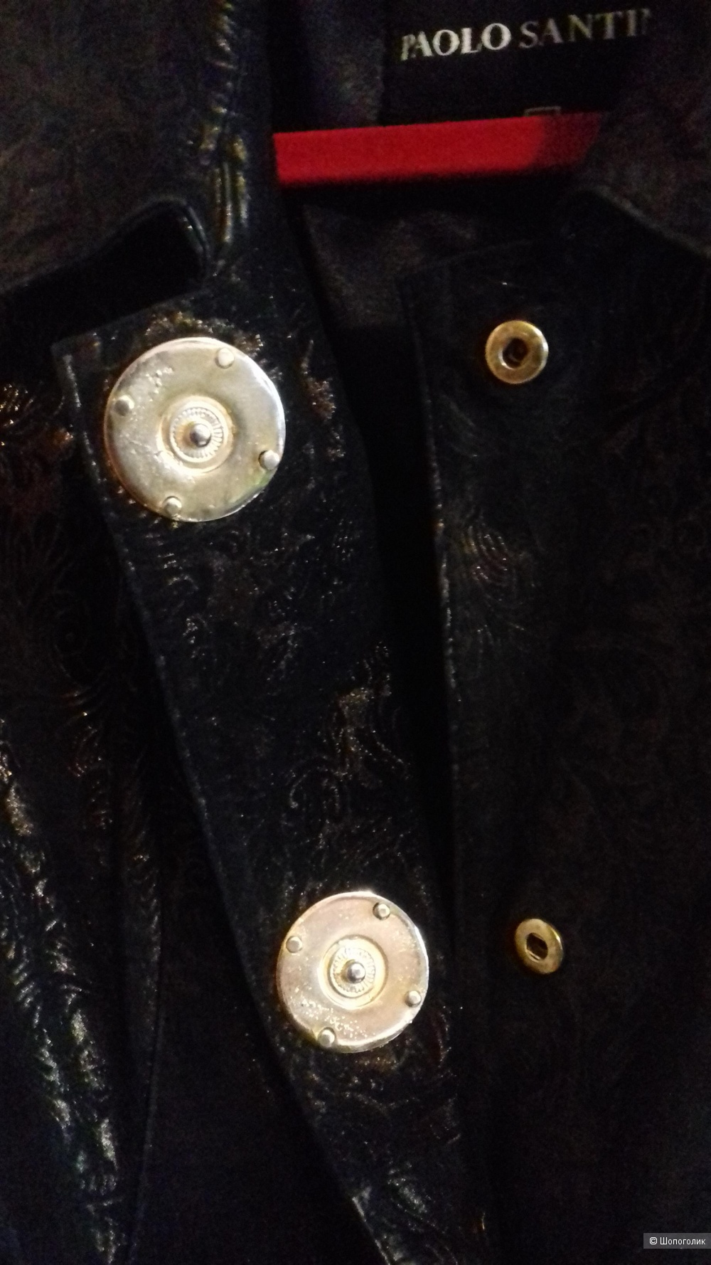 Куртка - пиджак Paolo Santini. Италия. р. Xl ( по факту 46).