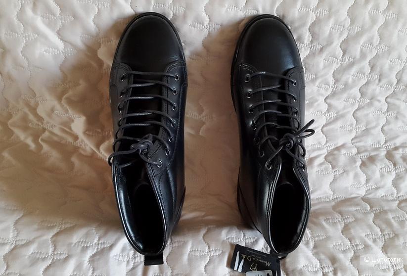 Мужские Ботинки-кеды 44 на 43 раз. Massimo Dutti