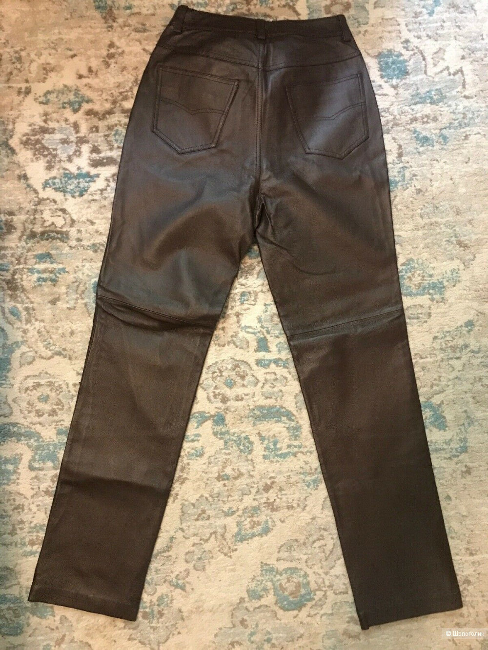 Кожаные брюки Newport News 10 размера