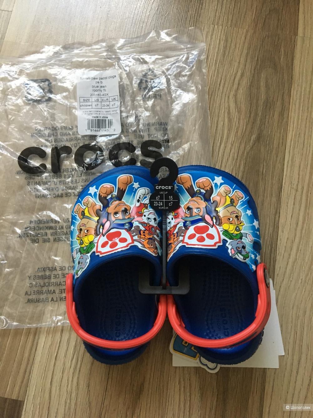 Пляжные сандали Crocs размер 23-27 С7
