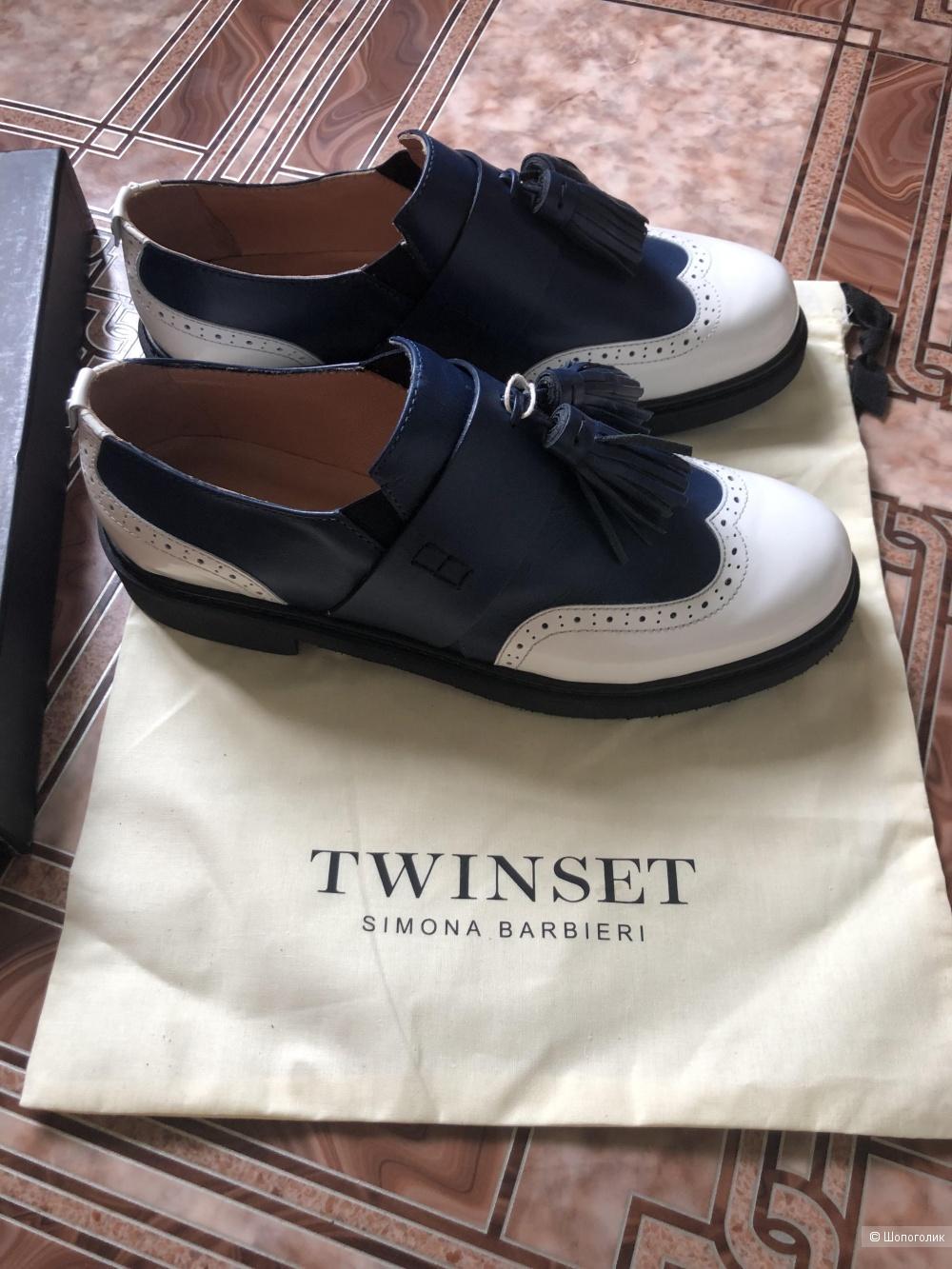 Туфли лоферы TwinSet размер 40