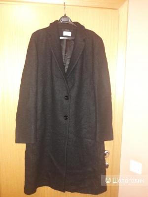 Шерстяное пальто Manuela Conti 48-50 размера