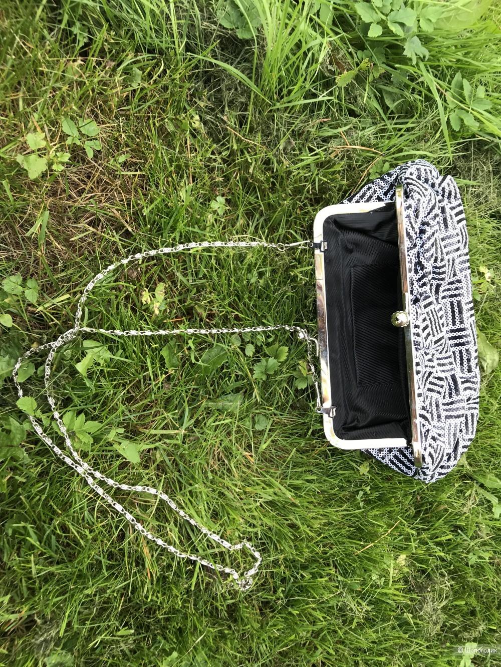 Вечерние сумочки в пайетках 2 шт (сет)
