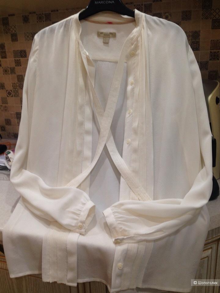 Блузка  Burberry Brit 100% шёлк .Размер S-M.