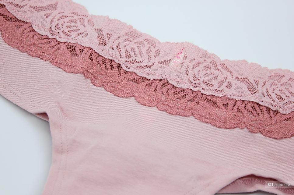 Трусики Pink Victoria's Secret, размер S (44) ОБ до 98 см