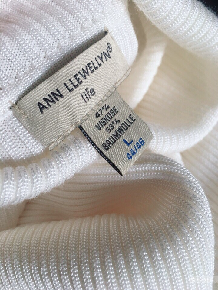Водолазка  Ann Llewellyn  размер L цвет кремовый