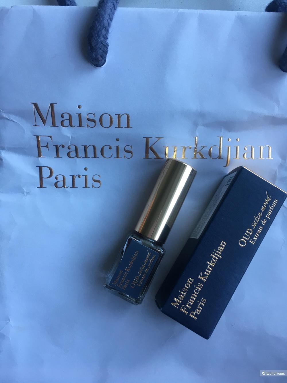Maison Francis Kurkdjian Paris Oud satin mood extrait 5ml