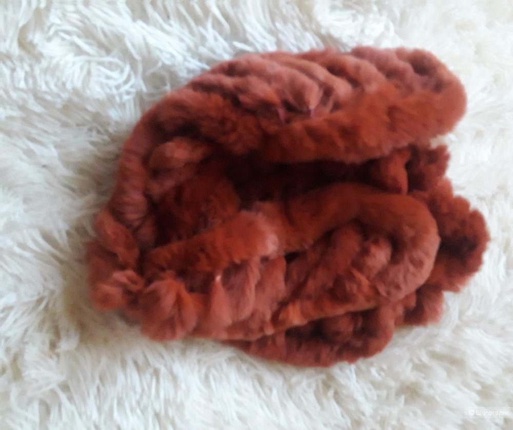 Меховой шарф, no name