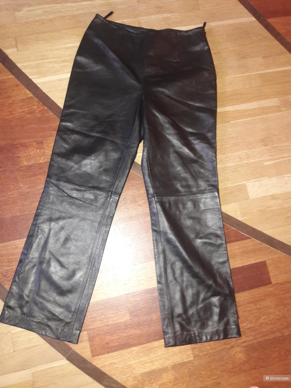 Кожаные брюки Apt размер 4