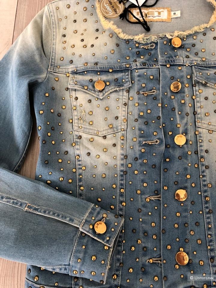 Джинсовая куртка MET, размер S