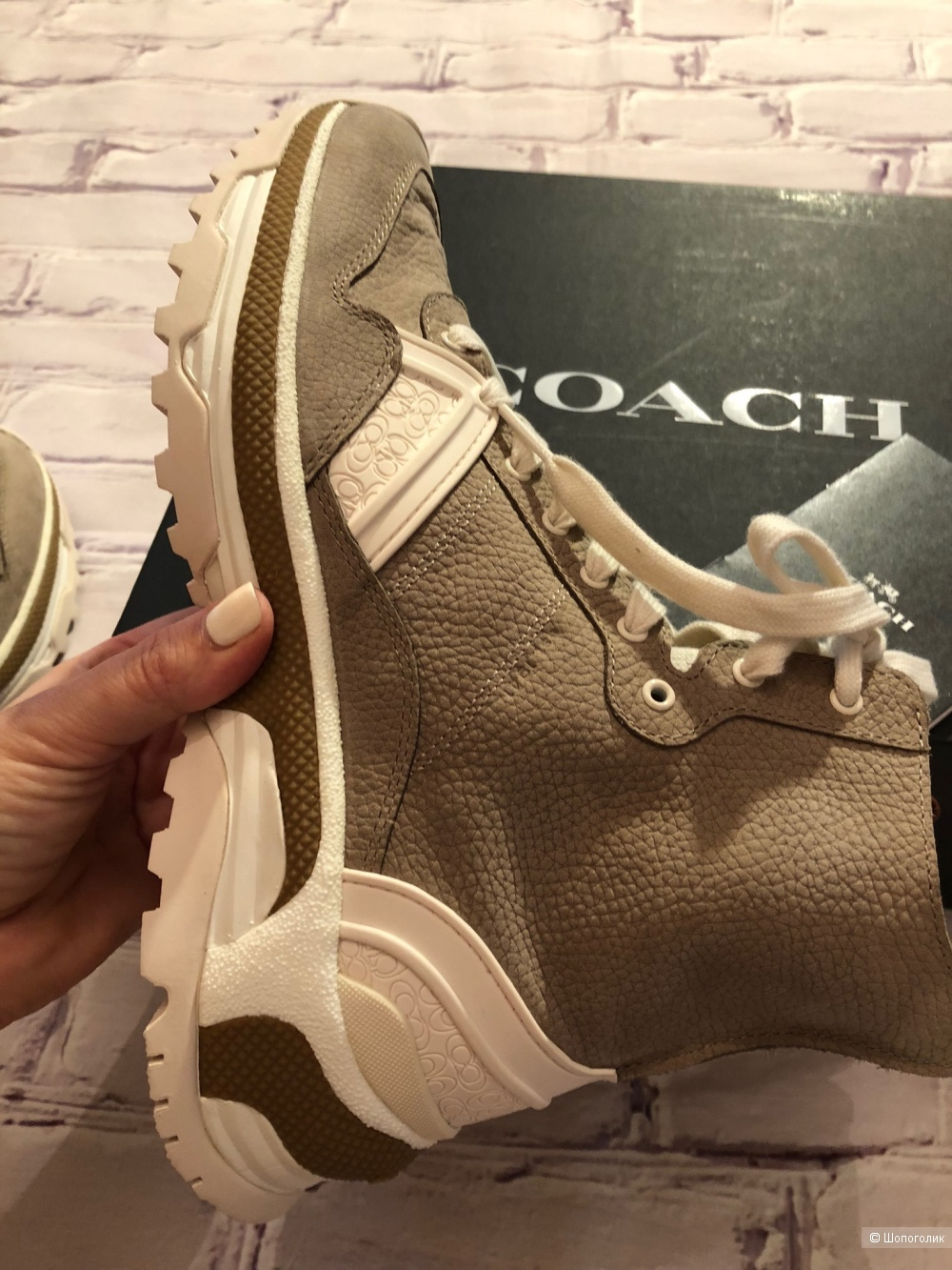 Ботинки Coach.   Размер 39-39,5