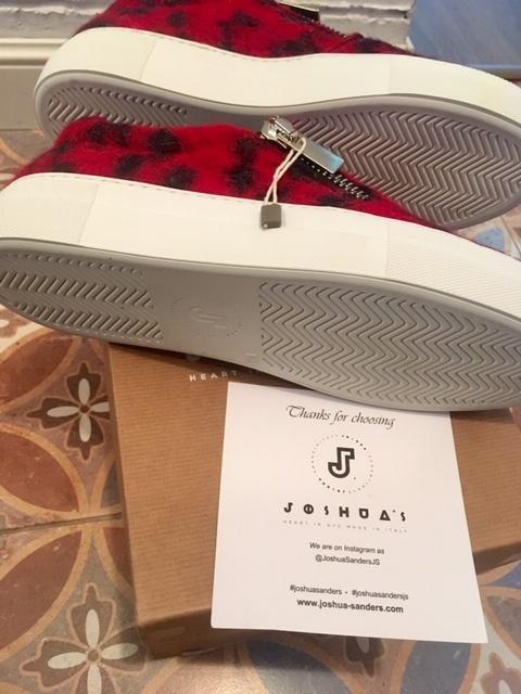 Сникерсы женские JOSHUA*S размер 38 Италия