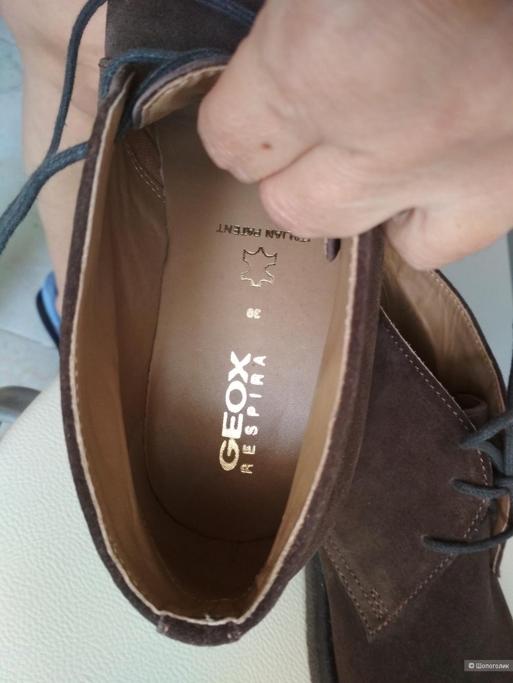Мужские ботинки Geox respira , р.40-41.