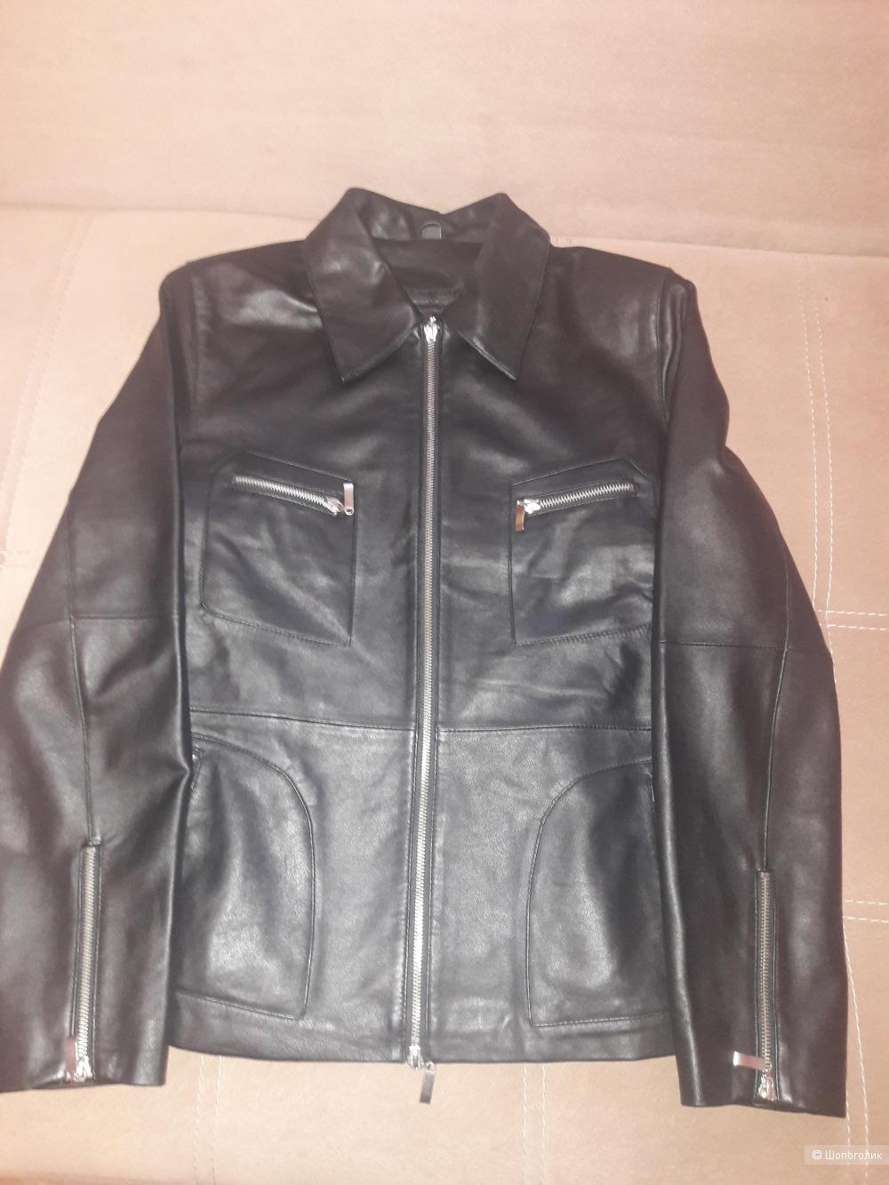 Кожаная куртка Tcm 46-48 размера