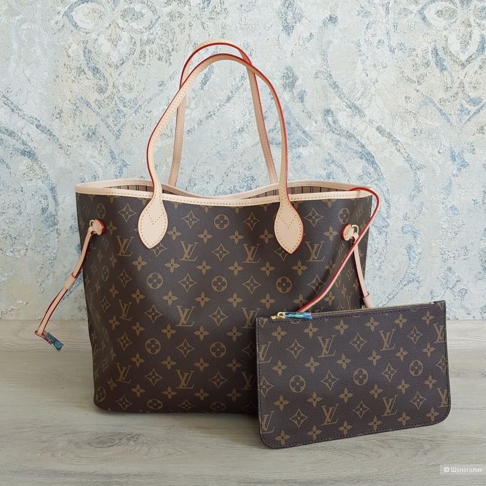Сумка Louis Vuitton Neverfull (канва Monogram)