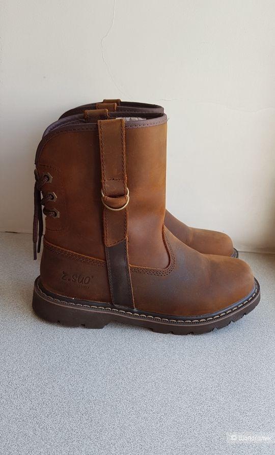 Кожаные ботинки  Z.Sou 39