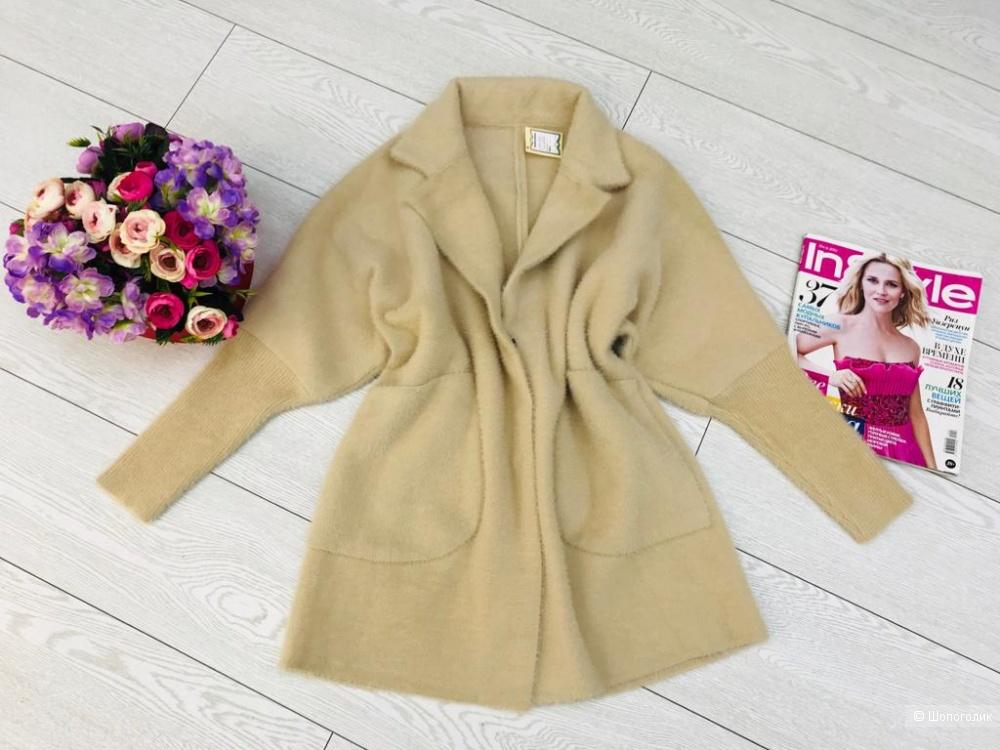 Кардиган пальто Травка, one size
