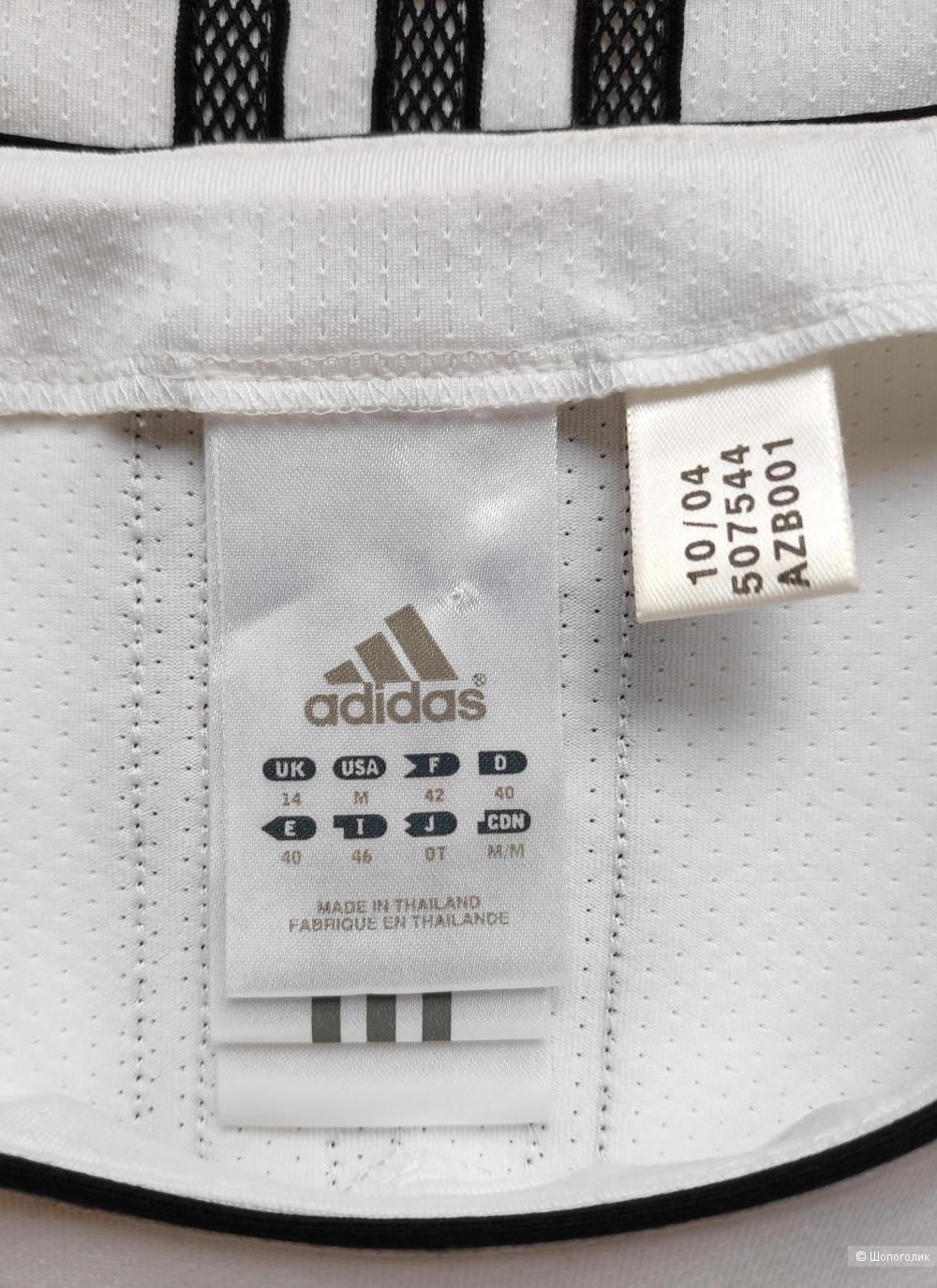Спортивная майка Adidas, маркировка 40EUR/ 46IT/ 14UK/ M.