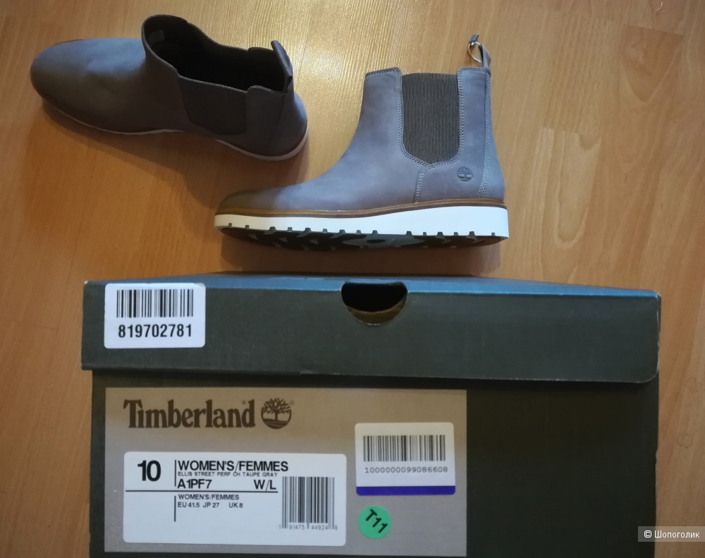 TIMBERLAND Ботинки челси, 41 р (10 US)