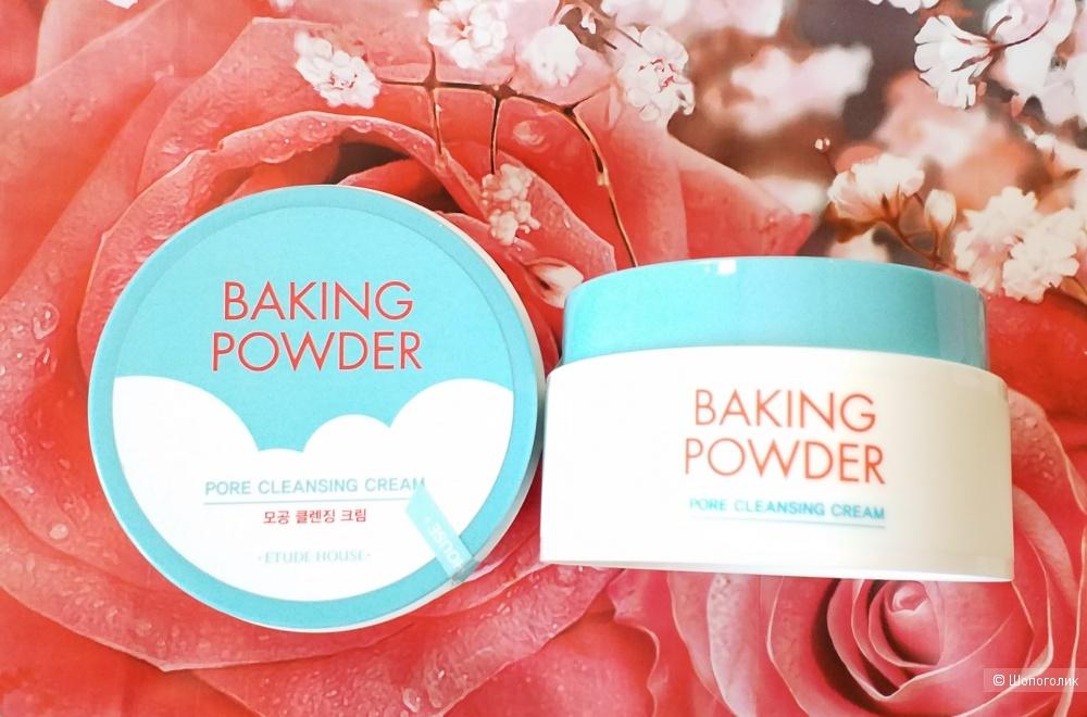 Крем для снятия макияжа Etude House Baking powder pore cleansing cream 180ml