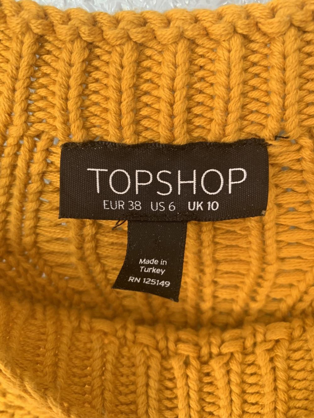 Джемпер Topshop, размер 38 eur