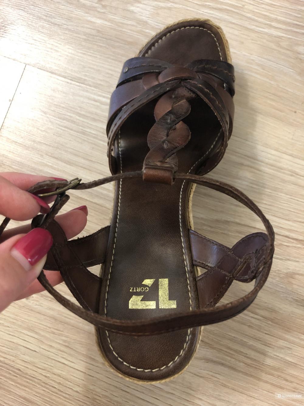 Кожаные босоножки Görtz, 39 размер
