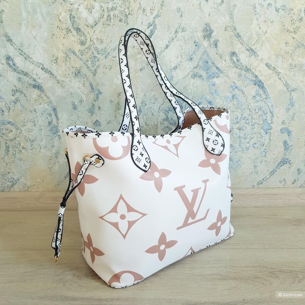 Сумка Louis Vuitton Neverfull (белая)