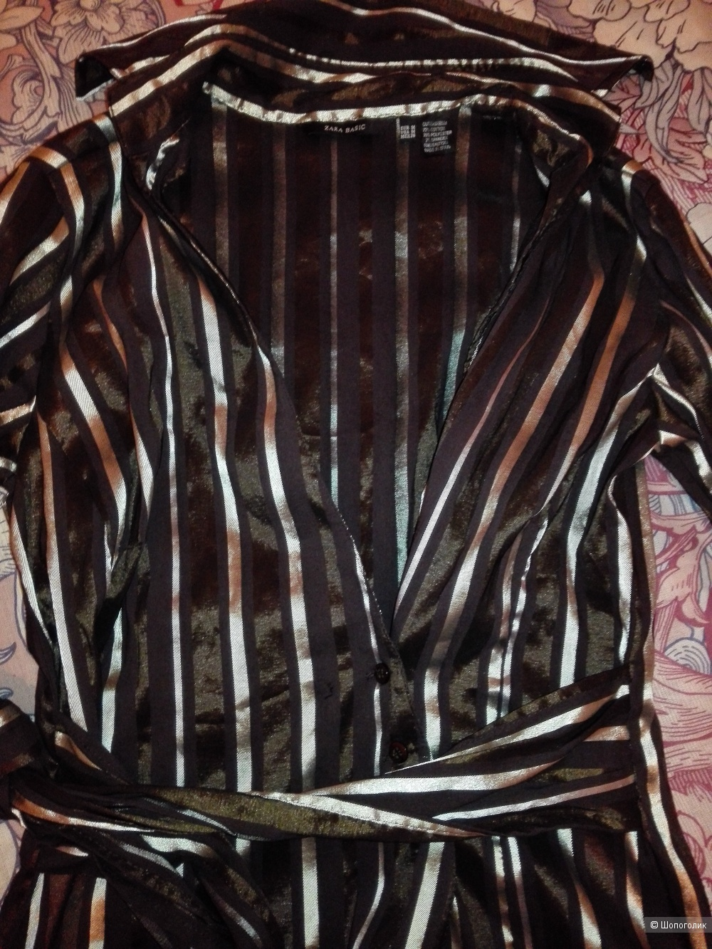 Женская рубашка Zara, размер М