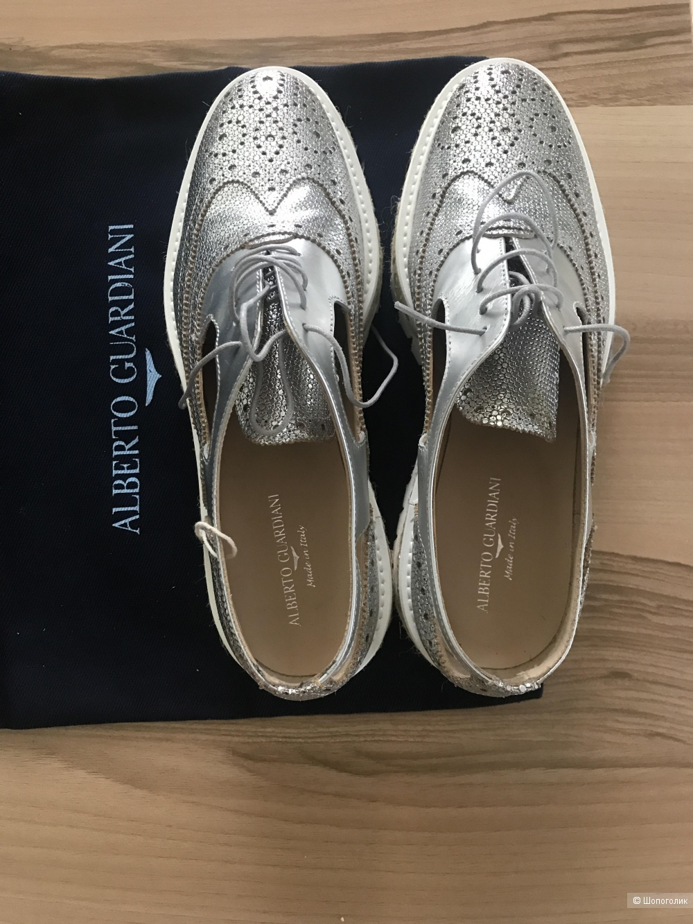 Ботинки Alberto Guardiani 37 размер