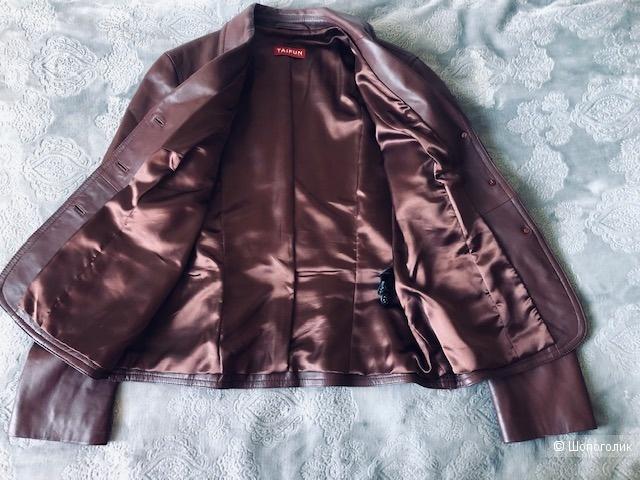 Кожаная куртка TAIFUN COLLECTION,42D