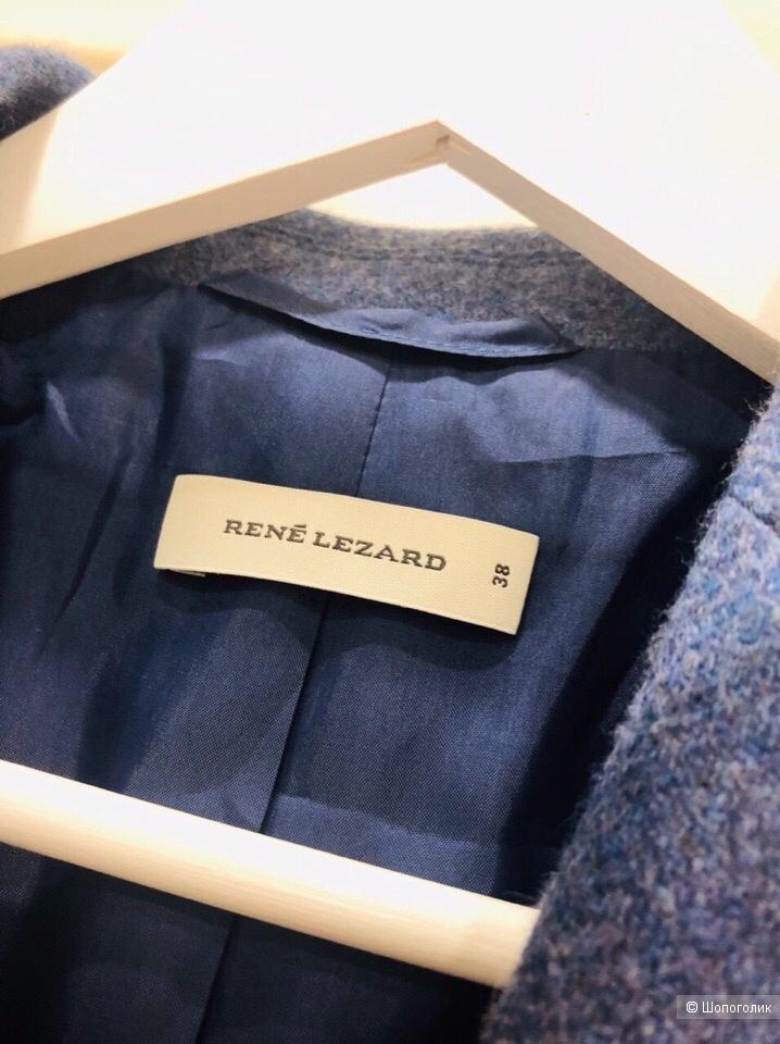 Пиджак Rene Lezard .Шерсть.Размер 44-46.