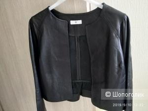 Блузон кожаный на s-m la redoute