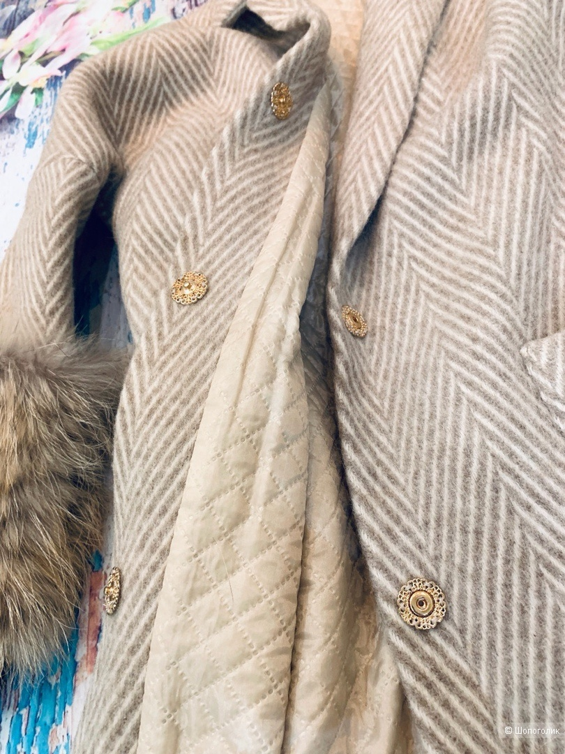 Пальто из шерсти от Ka Danelli M/L