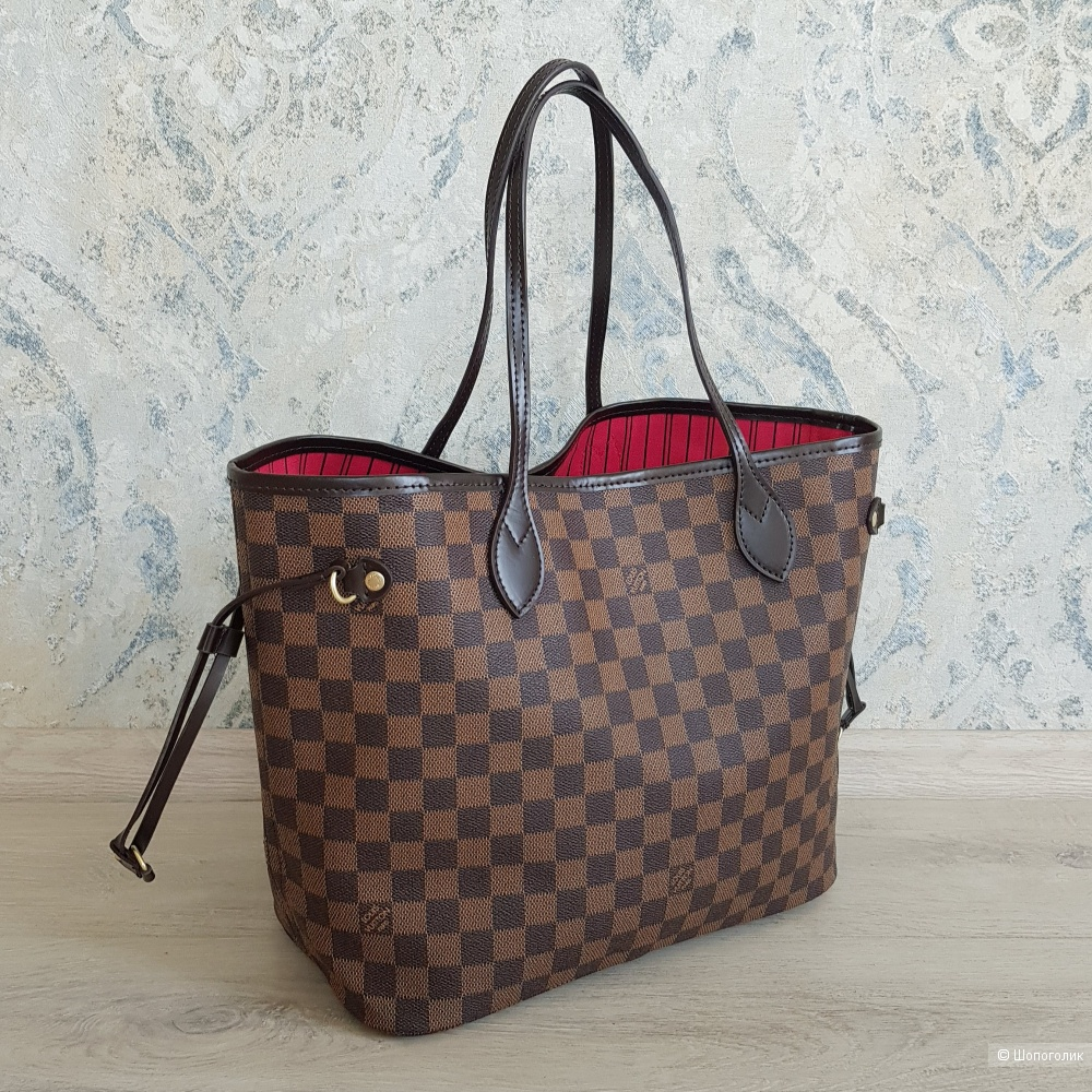Сумка Louis Vuitton Neverfull (канва Damier Ebene)
