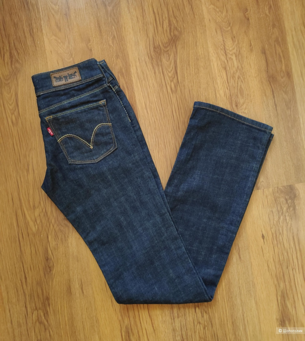 Джинсы Levi's 570 STRAIGHT FIT, размер W 26 L 34.