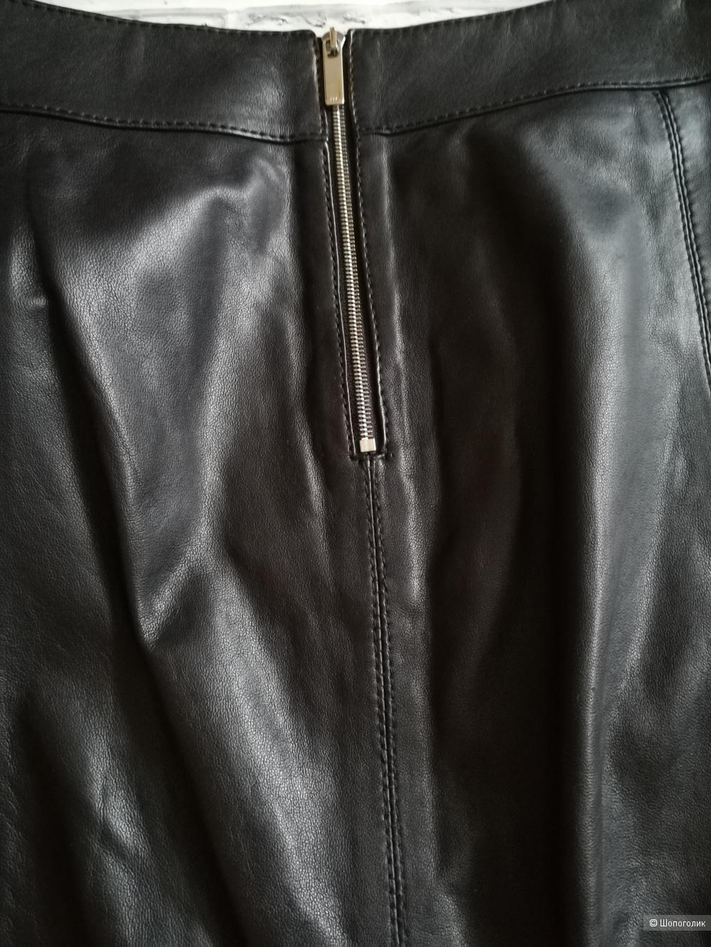 Кожаная юбка Karen Millen,размер 40 евр