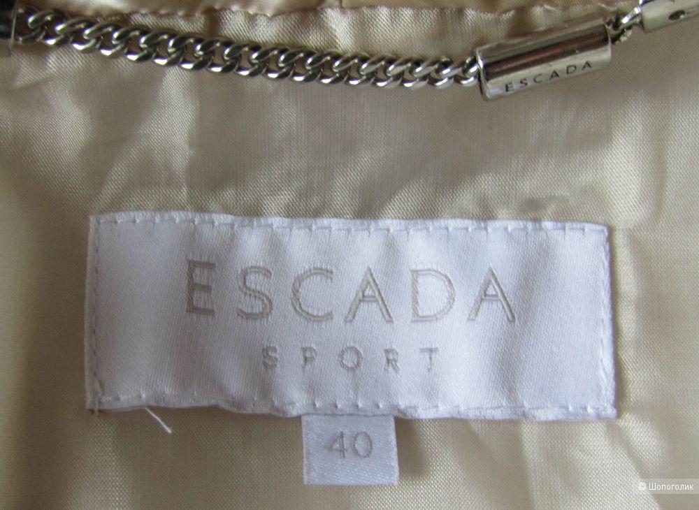 Куртка – пуховик Escada Sport размер 40GER на 46/48