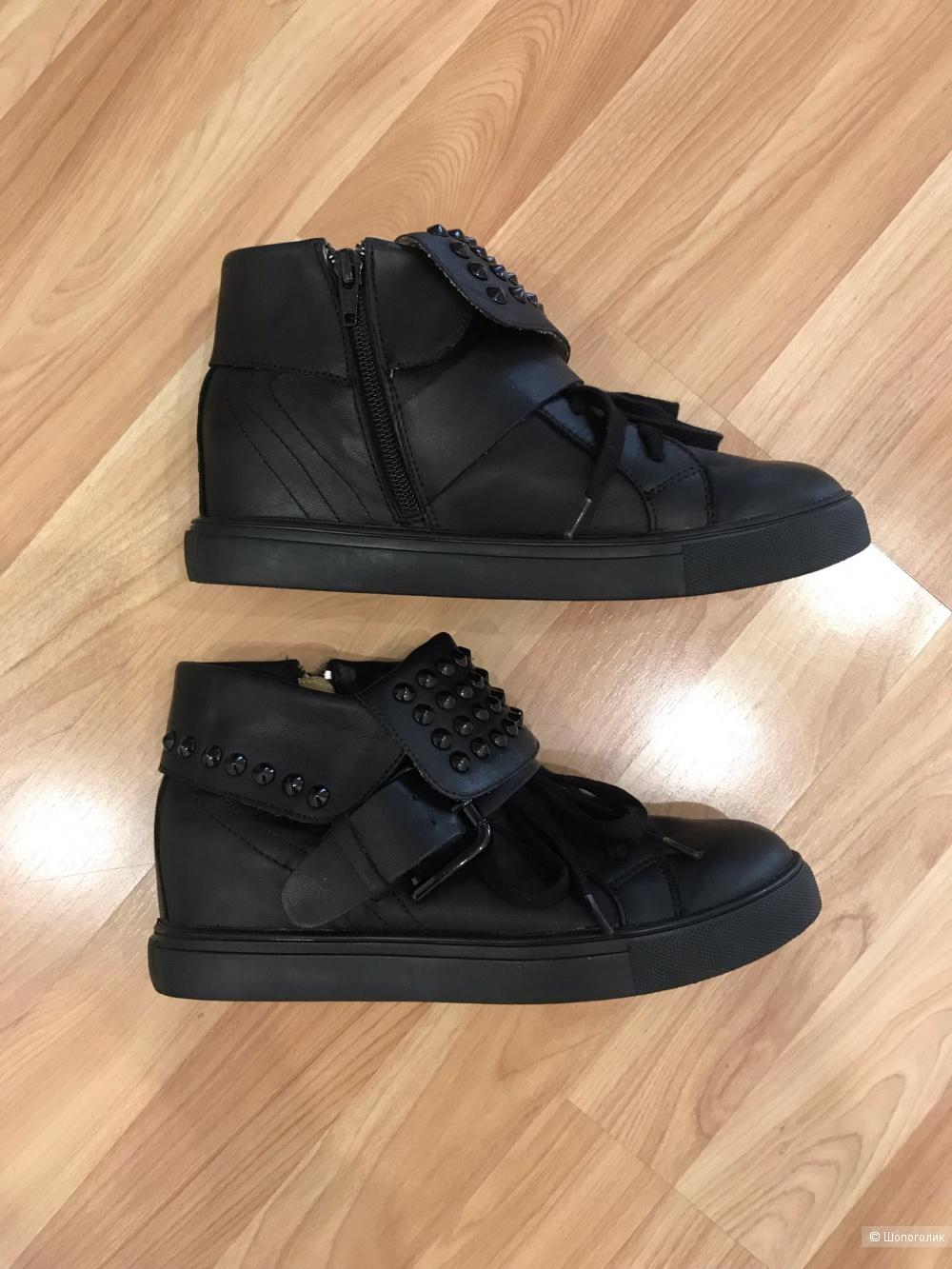 Ботинки кожаные Buffalo London, размер 37-38