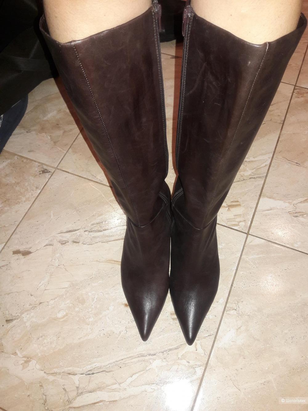 Кожаные сапоги Gortz 17 40 размера
