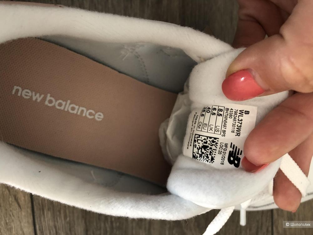 Кроссовки New Balance 373 8.5 US (39 рос)