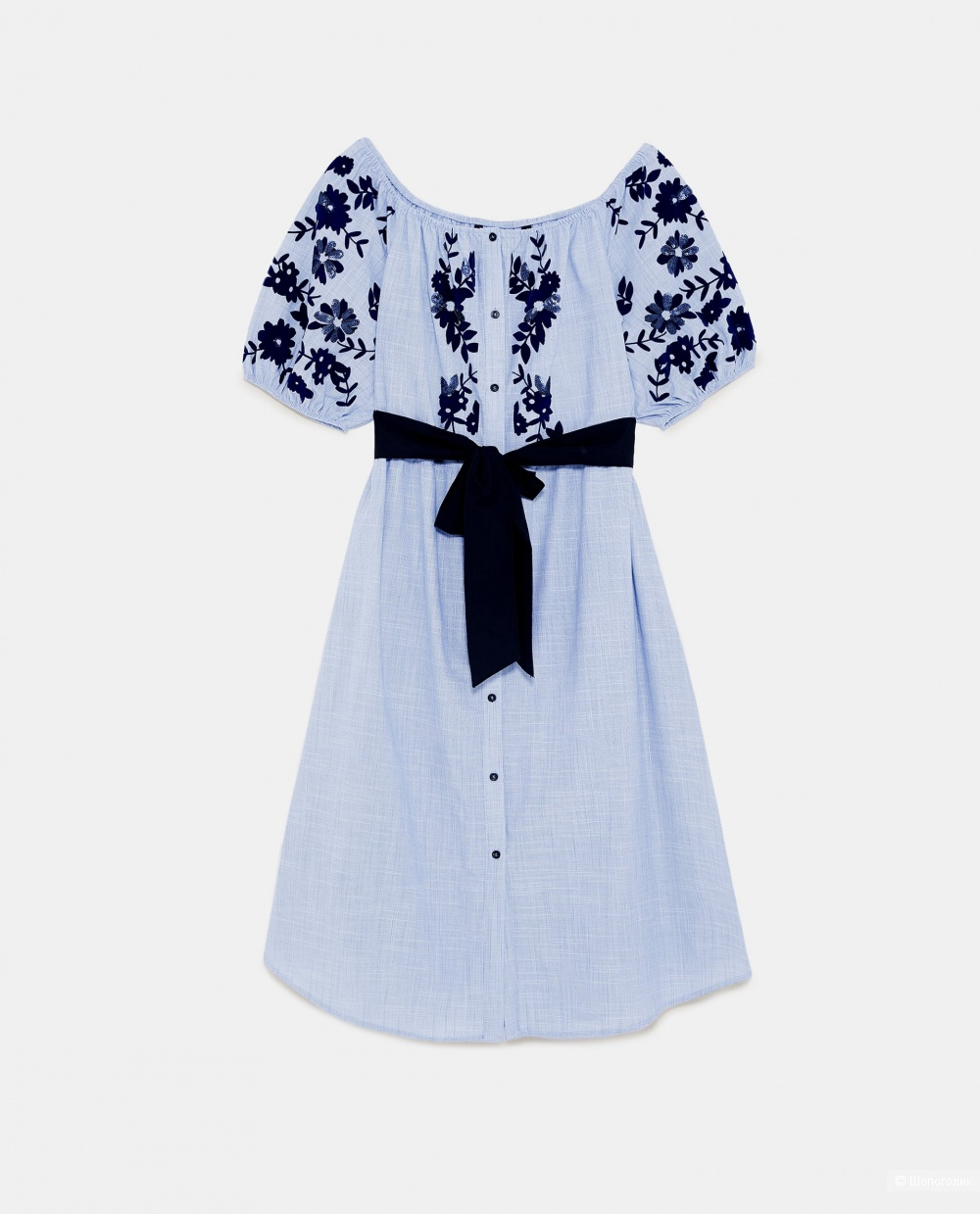 Платье-рубашка ZARA (M)