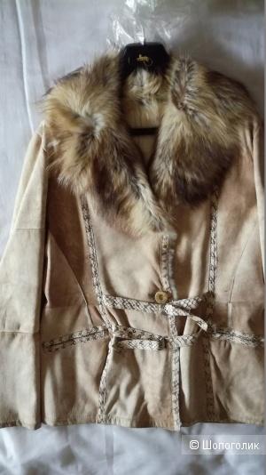 DAVIDE CENCI куртка дубленка 46