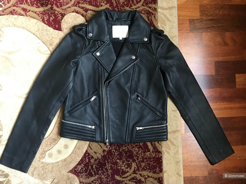 Продам новую кожаную куртку MAJE. Размер 40FR, идёт на 44 рос. Цена 19000₽ , на оф. сайте такая  около 40000 тыс. Продаю по причине того, что не подошёл размер. Реальному покупателю уступлю )